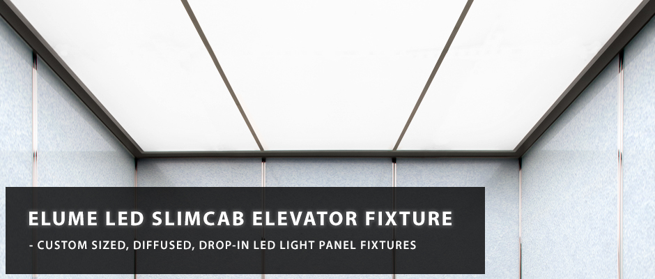 Elevator LED Light Panel Fixture