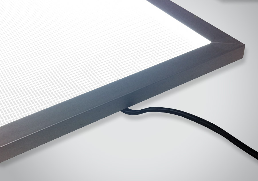 Extreme Output Framed LED Light Panel Edge