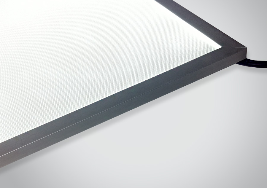 Max-High Output Framed LED Light Panel Edge