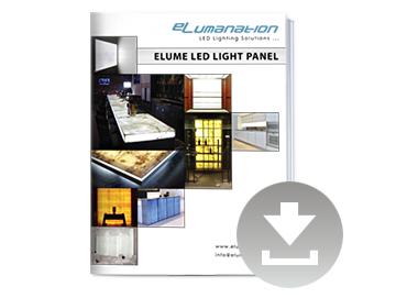 download led light panel guide