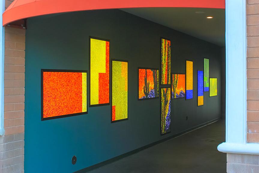 Led Backsplash Panels Led Glass Panel With Graphics