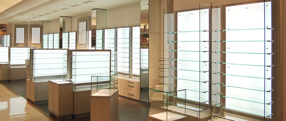 LED Light Panel - Backlit Retail Store Fixtures